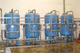 Reverse Osmosis Plant for brackish water demineralization to supply a boiler for vapour production