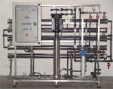 Reverse Osmosis Plant for well water demineralization to supply a power station for vapour production